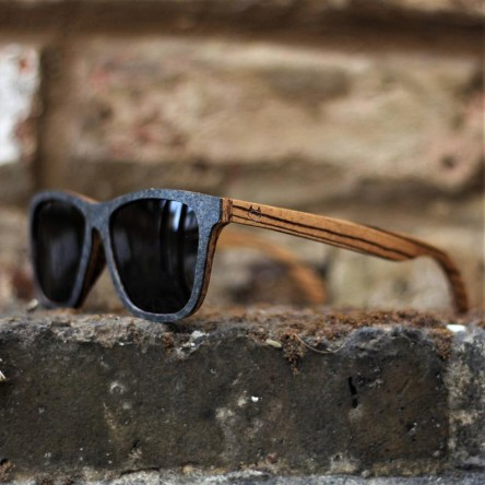 Stone and Wood Wayfarer Sunglasses Original