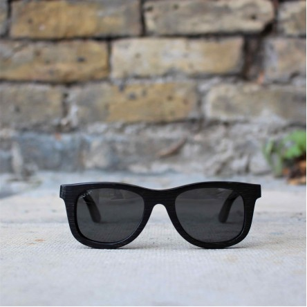 Kids Wayfarer Bamboo Wood Sunglasses